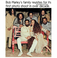 Decaded: Bob Marley's family reunites for its  first photo shoot in over decade.