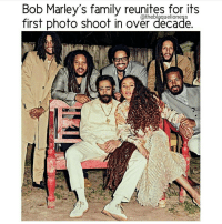 Decaded: Bob Marley's family reunites for its  first photo shoot in over decade