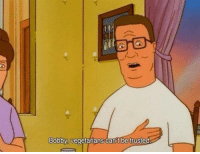 King of the Hill on Adult Swim: Bobby, vegetarians can't be trusted King of the Hill on Adult Swim