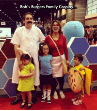 Family, Tumblr, and Best: Bob's Burgers Family Cosplay  ... epicjohndoe:  Probably The Best Family Costume Ever