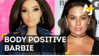 Barbie, Memes, and Models: BODY POSITIVE  BARBIE There's a new Barbie in town. It's body positive model Ashley Graham.