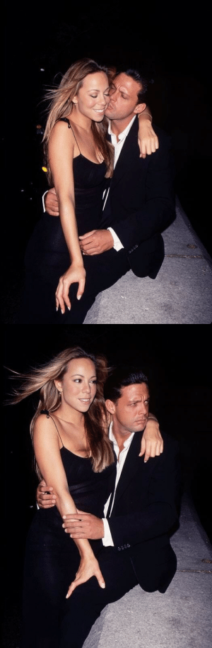 """Mariah Carey, Omg, and Tumblr: bodytracks: leomoods: mariah carey  luis miguel (1999) omg this relationship  his only use was to give mama latin peepee and foreign romantic heartthrob fuck boy""""love"""" that inspired all the ballads on Butterfly and gave us arguably her best number one hit""""my all"""" thank you Luis Miguel you did your part"""
