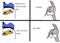 teh: bogs geuss wat  caem in teh male  today  i did. i wus out of  tishues  wat dolan  fak u dolan
