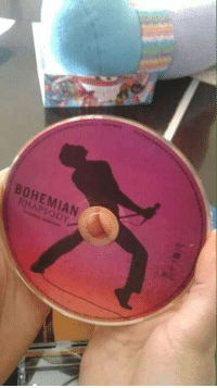Bohemian,  Way, and  Wrong: BOHEMIAN  HAPSODY I must be holding it the wrong way.