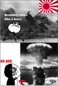 Fuck it, I'm the only one who runs this page. So, tag's off.: Bombing ships  like a boss  OH GOD Fuck it, I'm the only one who runs this page. So, tag's off.