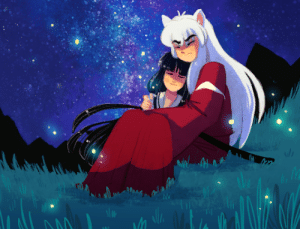 Target, Tumblr, and Blog: bondsacrosstime:  Another preview for our magazine, Bonds Across Time! Here is Kikyo x Inuyasha, drawn by Kounyoukai!You can view the full piece in our magazine, which can be preordered HERE! PREORDERS CLOSE TONIGHT AT 12 AM PT!