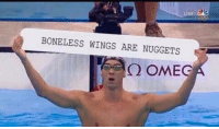 Wings, Dank Memes, and Omegal: BONELESS WINGS ARE NUGGETS  Q OMEG