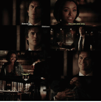 """Memes, 🤖, and Who: Bonnie  The one and only.  """"laughs + [ 6x15 ] this scene was my fav!! 😍 — q: who do you ship bonnie with? [ gaby - @piercesblood ]"""