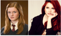 Memes, Bonnie Wright, and 🤖: Bonnie Wright - 24 Ginny Weasley - Harry Potter Still acting & directing. Philanthropist. Number upcoming projects.