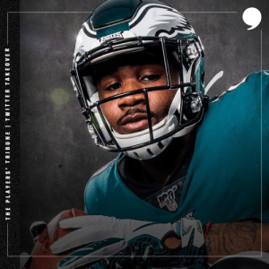 .@BoobieMilesXXIV here from the @Eagles and I'm livetweeting the first round of #NFLDraft for TPT tonight. Let's get it 💪🏾💪🏾 https://t.co/pRnuFDQbpl: .@BoobieMilesXXIV here from the @Eagles and I'm livetweeting the first round of #NFLDraft for TPT tonight. Let's get it 💪🏾💪🏾 https://t.co/pRnuFDQbpl