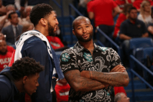"Soon..., All That, and Once: Boogie knew the Pelicans would lose AD once they didn't re-sign him: ""As soon as all that goofy junk went down, I knew,"" per Chris B. Haynes"