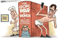 Books, Memes, and Book: BOOK  ENDS  THE  GOP  WAR  WOMEN  HILLARY  RODHAM  CLINTON