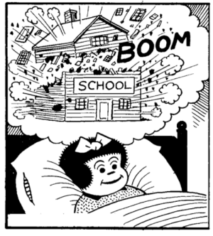 School, Dreams, and Boom: BOOM  SCHOOL Sweet dreams!