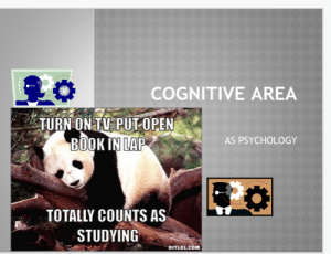 Boomer psychology teacher trying to cheer us up with memes in our home learning power points: Boomer psychology teacher trying to cheer us up with memes in our home learning power points