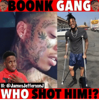Memes, 🤖, and Who: BOONK  IG: @JamesJeffersonJ  WHO  SHOT HIM!? I know who shot Boonk twice....🐸☕️