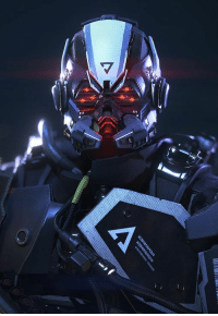 Fall, Tumblr, and Blog: booster-gvng:  Killzone: Shadow Fall - Helghast Commando by Arno  HELGHAN FOREVER!