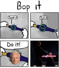 Memes, Good, and Good Good: Bop it  Twist  Turn  Do itl Good, good. Let the hate flow through you.