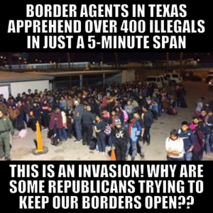 Why are 12 REPUBLICANS siding with Democrats to keep our borders open?! ASK THEM!  Tell these GOP Senators to support the National Emergency and BUILD THE WALL! ☎️ 202-224-3121  Senator Mitt Romney Senator Susan Collins Senator Lamar Alexander Senator Mike Lee Senator Roy Blunt Senator Jerry Moran Senator Rob Portman Senator Marco Rubio Senator Pat Toomey Senator Roger Wicker Senator Rand Paul Senator Lisa Murkowski: BORDER AGENTS IN TEKAS  APPREHEND OVER 400 ILLEGALS  IN JUST A 5-MINUTE SPAN  THIS IS AN INVASION! WHY ARE  SOME REPUBLICANS TRYING TO  KEEP OUR BORDERS OPEN? Why are 12 REPUBLICANS siding with Democrats to keep our borders open?! ASK THEM!  Tell these GOP Senators to support the National Emergency and BUILD THE WALL! ☎️ 202-224-3121  Senator Mitt Romney Senator Susan Collins Senator Lamar Alexander Senator Mike Lee Senator Roy Blunt Senator Jerry Moran Senator Rob Portman Senator Marco Rubio Senator Pat Toomey Senator Roger Wicker Senator Rand Paul Senator Lisa Murkowski