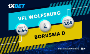 "Borussia won two previous matches, but will the hosts be able to celebrate another success over the ""pharmacists""? On which team are you betting?  Use promo code ""130XBONUS"" and Boost your first deposit!  Predict the outcome: https://t.co/fNCxTL7Dyb Follow: @1xbet_Eng https://t.co/RRME6D4QpA: Borussia won two previous matches, but will the hosts be able to celebrate another success over the ""pharmacists""? On which team are you betting?  Use promo code ""130XBONUS"" and Boost your first deposit!  Predict the outcome: https://t.co/fNCxTL7Dyb Follow: @1xbet_Eng https://t.co/RRME6D4QpA"