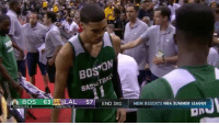 Jayson Tatum hit the buzzer beater and pointed at his mom 😯🔥 MomApproves GotHisOwnSong: BOS  BAS  BOS 63  AL 57  TIMEOUTS: 2  END 3RD MGM RESORTS NBA SUMMER LEAGUE  TIMEOUTS: 2  aN Jayson Tatum hit the buzzer beater and pointed at his mom 😯🔥 MomApproves GotHisOwnSong