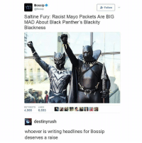 """this is the best way they could have written this: Bossip  @Bossip  """" Follow 