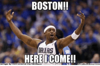 Facebook, Nba, and Boston: BOSTON!!  DALLAS  HERE COME!!  Broaght Bye  facebook.com/NBAMemes Jason Terry joins Celtics Nation! Credit: Tevin Thao