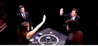 """<p><a href=""""https://www.youtube.com/watch?v=ONTIvDsT8bY"""" target=""""_blank"""">Jimmy and Jennifer Garner teamed up to face-off against</a> Questlove and John Mulaney in a game of Catchphrase! Things got pretty intense &hellip;<img alt="""""""" src=""""https://78.media.tumblr.com/c568a28ed7c37607f5a135ba390ba9d3/tumblr_nctxfdlzqz1tv4k5po1_500.gif""""/></p>: Both: Alright, alright alright! <p><a href=""""https://www.youtube.com/watch?v=ONTIvDsT8bY"""" target=""""_blank"""">Jimmy and Jennifer Garner teamed up to face-off against</a> Questlove and John Mulaney in a game of Catchphrase! Things got pretty intense &hellip;<img alt="""""""" src=""""https://78.media.tumblr.com/c568a28ed7c37607f5a135ba390ba9d3/tumblr_nctxfdlzqz1tv4k5po1_500.gif""""/></p>"""