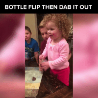 This three year old has more skills than I do  via JukinMedia: BOTTLE FLIP THEN DAB IT OUT This three year old has more skills than I do  via JukinMedia