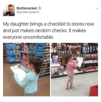 😂😂😂lol - - - - - 420 memesdaily Relatable dank MarchMadness HoodJokes Hilarious Comedy HoodHumor ZeroChill Jokes Funny KanyeWest KimKardashian litasf KylieJenner JustinBieber Squad Crazy Omg Accurate Kardashians Epic bieber Weed TagSomeone hiphop trump rap drake: Bottlerocket  @bottle rocket 13  My daughter brings a checklist to stores now  and just makes random checks. It makes  everyone uncomfortable. 😂😂😂lol - - - - - 420 memesdaily Relatable dank MarchMadness HoodJokes Hilarious Comedy HoodHumor ZeroChill Jokes Funny KanyeWest KimKardashian litasf KylieJenner JustinBieber Squad Crazy Omg Accurate Kardashians Epic bieber Weed TagSomeone hiphop trump rap drake