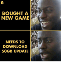 gamer gaming gamers onlygamers download gamedownload downloadnewgames downloading update updates gamersknow: BOUGHT A  NEW GAME  NEEDS TO  DOWNLOAD  50GB UPDATE gamer gaming gamers onlygamers download gamedownload downloadnewgames downloading update updates gamersknow