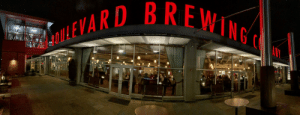 Boulevard Brewing Company showing their support for the Kansas City Chiefs Super Bowl Champs.: Boulevard Brewing Company showing their support for the Kansas City Chiefs Super Bowl Champs.