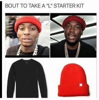 "Memes, Starter Kit, and 🤖: BOUT TO TAKE A ""L"" STARTER KIT Automatic L kit! ✌😂😂"