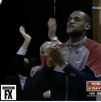 With March Madness around the corner, thought it would be appropriate to post this clip of Steph's 42 point game on 12-7-08 while at Davidson against NC State with LeBron James in attendance. (via @bowdownfx): BOWDOWN  FSSOU  NCSU  22 DAV  123 35 With March Madness around the corner, thought it would be appropriate to post this clip of Steph's 42 point game on 12-7-08 while at Davidson against NC State with LeBron James in attendance. (via @bowdownfx)