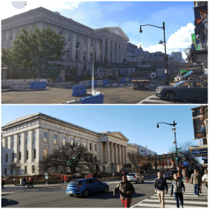 The Division, Box Office, and Game: Box Office  7 I went to a Washington Capitals game yesterday and it's safe to say The Division 2's portrayal of Washington, D.C. is amazing.