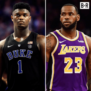 """Bron wanted to see if Zion could really play after dominating weaker HS competition. He proved himself at Duke: """"Every possession it seemed like he could make a difference on the outcome"""" (via HBO): B'R  ไม่ǐsh  123 Bron wanted to see if Zion could really play after dominating weaker HS competition. He proved himself at Duke: """"Every possession it seemed like he could make a difference on the outcome"""" (via HBO)"""