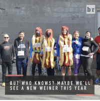 Sports, Race, and Dog: br  008  002  BUT WHO KNOWS? MAY BE WELL  SEE A NEW WEINER T HIS YEAR Started in 2012, the NY Hot Dog Challenge may be the only race you could actually gain weight