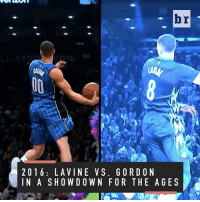 Remember when?... Relive the most powerful jams and creative slams from top NBA Dunk Contests (▶️ @verizon): br  2 0 1 6 LA VINE VS. G ORD ON  IN A SHOWDOWN FOR THE AGES Remember when?... Relive the most powerful jams and creative slams from top NBA Dunk Contests (▶️ @verizon)