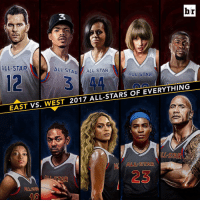 All Star, Sports, and Squad: br  ALL-STAR  ALLSTAR  ALL STAR  ALL STAR  2017 ALL-STARS OF EVERYTHING  WEST  EAST VS  ALLSTAR  STAR  40 The best of the best. Pick your squad.