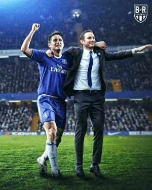 Chelsea, Club, and Football: BR  FOOTBALL  Fy  Emirate  C OHAA Chelsea has officially appointed club legend Frank Lampard as manager 🔵 (via Bleacher Report Football)