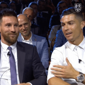 "Ronaldo on his and Messi's rivalry: ""We shared this stage for 15 years, me and him. ... It's good to be part of the history of football."" 🙌: BR  FOOTBALL Ronaldo on his and Messi's rivalry: ""We shared this stage for 15 years, me and him. ... It's good to be part of the history of football."" 🙌"