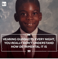 "Growing Up, Life, and Newport: br  HEARING GUNSHOTS EVERY NIGHT  YOU REALLY DON'T UNDERSTAND  HOW DETRIMENTAL IT IS  35 Growing up in Newport News, Va., a young Vick turned to football to escape the harsh reality of life. [Watch the full VICK documentary exclusively through the free Bleacher Report app by adding the ""Vick"" stream — link in bio]"