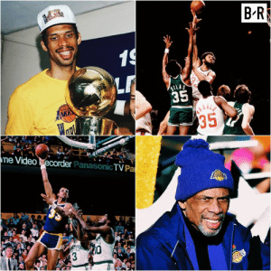 All Star, Birthday, and Finals: BR  LAS  35  e Video  econde  er PanasonicTV Pa Happy birthday to a legend, Kareem Abdul-Jabbar  —All-time points leader (38,387) —Record 6x MVP —Record 19x All-Star —6x NBA Champion —2x Finals MVP   One of the greatest to play the game.