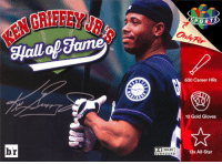 Ken Griffey Jr. received a record 99.3% of eligible votes into the Hall of Fame. Legend: br  SURROUND  SPORT  630 Career HRs  10 Gold Gloves  13x All-Star Ken Griffey Jr. received a record 99.3% of eligible votes into the Hall of Fame. Legend