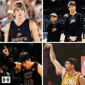 Shooters, Kyle Korver, and Summer: BR  UTA In 2003, the Nets drafted Kyle Korver 51st and traded him for $125K.  They used it for their summer-league fee and a copy machine.  Today he turns 38 as one of the greatest shooters of all time.