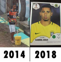 Jesus, Manchester City, and Russia: BRA  RUSSIA 2018  m 1,75  kg 73  3-4-1997  GABRIEL JESUS  Manchester City FC (ENG)  2014 2018 Hustle >> Everything https://t.co/5ZG9Vf5KYG