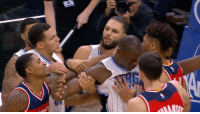 Bradley Beal gets called for the technical for choking Evan Fournier 😳: Bradley Beal gets called for the technical for choking Evan Fournier 😳