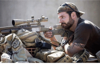 Bradley Cooper portraying Chris Kyle in American Sniper!: Bradley Cooper portraying Chris Kyle in American Sniper!