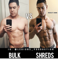 Clothes, Facebook, and Gym: BRADLEY DUONG  VS  I G  LEGION S  PRODUC TION  BULK  SHREDS 🔥😳BULK VS SHREDS! Founder 👉: @king_khieu. Thoughts? 🤔Opinions? What do you guys think? COMMENT BELOW! Athlete: @braduong. TAG SOMEONE who needs to lift! _________________ Looking for unique gym clothes? Use our 10% discount code: LEGIONS10🔑 on Ape Athletics 🦍 fitness apparel! The link is in our 👆 bio! _________________ Principal 🔥 account: @fitness_legions. Facebook ✅ page: Legions Production. @legions_production🏆🏆🏆