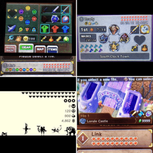Just finished Majora's Mask 100% on my quest to 100% every Zelda game. This is about 345 hours of gameplay. On to Zelda 1.: Brady  08/28/19 09306PM  1st 7818  MASKS  100  24/24  GEAR  ITEMS  MAP  BACK  South Clock Town  Fiease seiect a Te.  Link  06/18/19 09:41PM  You can select  if you select a new file.  OOO  120  File 1  900  4,862  9999  Lorule Castle  tes  Link  1  AYNY Just finished Majora's Mask 100% on my quest to 100% every Zelda game. This is about 345 hours of gameplay. On to Zelda 1.