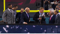 Brady and Belicheck reaction to Rodger Goodell getting booed: Brady and Belicheck reaction to Rodger Goodell getting booed